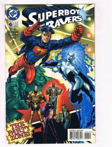 Superboy #6 FN DC Comics Comic Book Kesel JLA Feb 1997 DE38 AD11