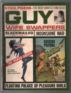Guy 12/1966-hardboiled crime-Michael Avallone-cheesecake pix-VG-