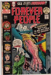 Forever People #9 (Jul-72) FN/VF+ High-Grade Big Bear, Beautiful Dreamer, Ser...