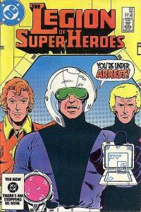 Legion of Super-Heroes (1980 series) #312, VF (Stock photo)