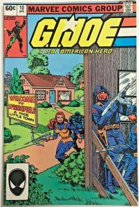GI JOE#10 VF/NM 1983 SECOND PRINT MARVEL BRONZE AGE COMICS