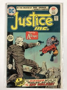 JUSTICE INC (1975) 2 VG Aug. 1975 Kirby COMICS BOOK