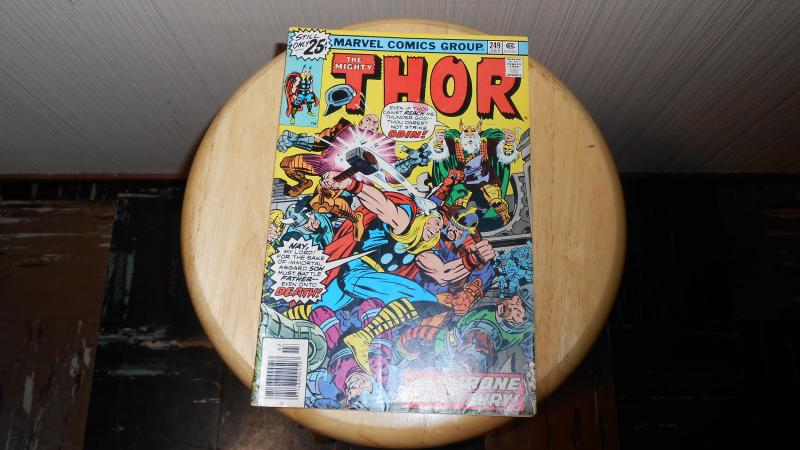 THE MIGHTY THOR # 249 (JULY 1976)