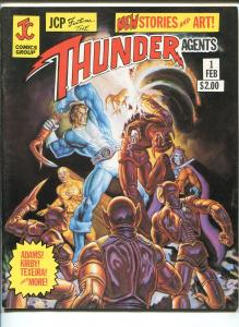 JCP FEATURES THE THUNDER AGENTS #1 1981-ARCHIE-SIMON & KIRBY-NEAL ADAMS-vf