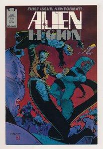 Alien Legion (1987 2nd Series) #1 VF