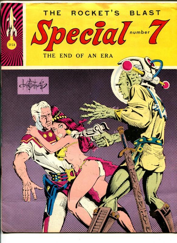 Rocket's Blast Special #7 1967-SFCA-Tribute To EC Comics-End Of An Era-FN-