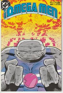 Omega Men(vol. 1) # 2  From the Pages of Green Lantern, New Teen Titans