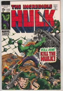 Incredible Hulk #120 (Oct-69) VF/NM High-Grade Hulk
