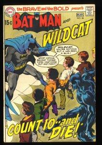 Brave And The Bold #88 FN 6.0 Batman Neal Adams Art!