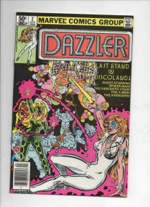 DAZZLER #2, NM-, Disco, Spider-man, 1981, more Marvel in store