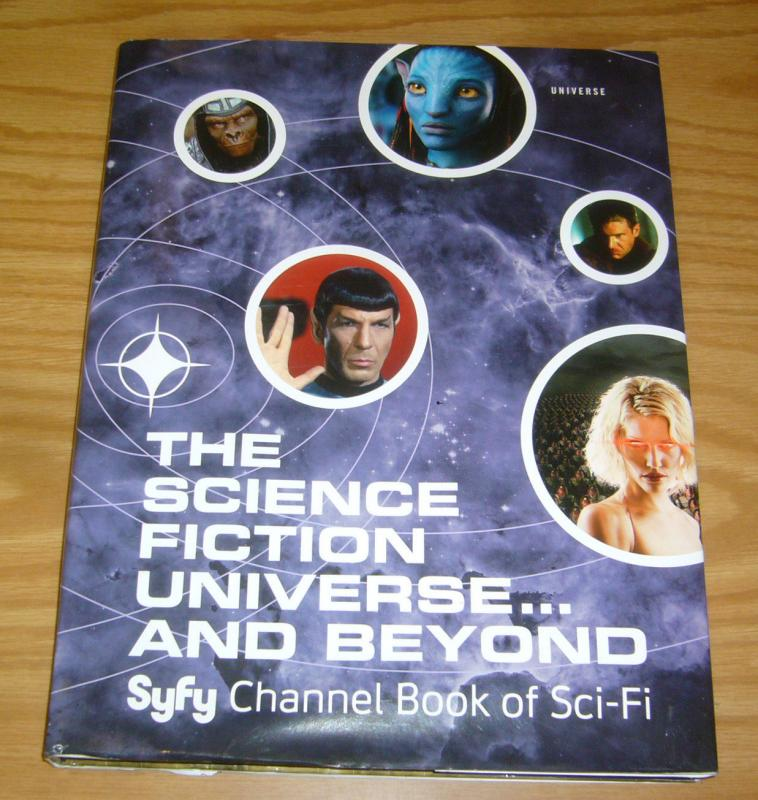 the Science Fction Universe ... And Beyond HC VF/NM syfy channel hardcover 2012