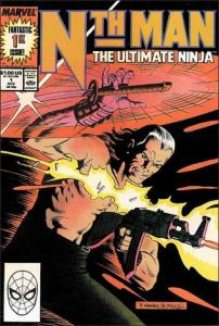 Marvel NTH MAN THE ULTIMATE NINJA #1 VF