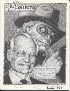 Pulp Collector #20 1991-Harry Steeger tribute issue-historic info-FN