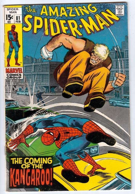 Amazing Spider-Man 81 strict FN 6.0 Mid-Grade  B   Tons more Spidey's up now