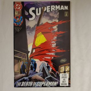 Superman 75 2nd printing Near Mint-