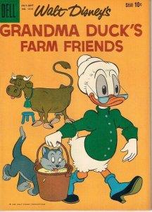 Grandma Duck's Farm Friends  (Dell Four Color)  #1010