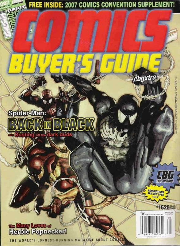 Comics Buyer's Guide #1628 VF/NM; F&W | save on shipping - details inside