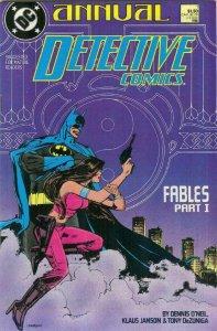 DETECTIVE #1 Annual, VF, Batman, DeZuniga, 1988, Gotham City,more DC in store