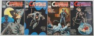 Catwoman #1-4 VF complete series - dc comics 2 3 set lot batman first mini