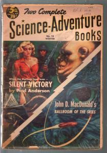 Two Science-Adventure Books #10 Winter 1953-John D MacDonald-G/VG