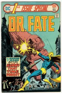 1ST ISSUE SPECIAL #9 (7.0) Dr Fate! Walt Simonson Supernatural Bronze Age DC