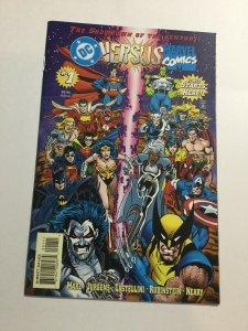 DC Comics Versus Marvel Comics 1 Nm Near Mint