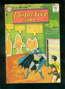 DETECTIVE COMICS #238 1956-BATMAN-ROBIN-DC COMICS-JOHN JONES-good G