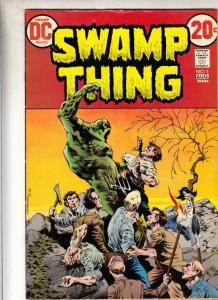 Swamp Thing #5 (Aug-73) VF/NM High-Grade Swamp Thing