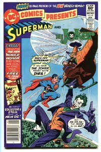 DC COMICS PRESENTS #41 comic book-SUPERMAN/JOKER-HIGH GRADE NM-