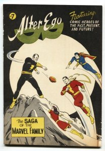 Alter Ego #7 1965- Fanzine fandom- 1st Black Adam since Golden-Age