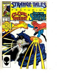 Lot Of 8 Strange Tales Marvel Comic Books # 1 2 5 6 7 8 9 10 Dr. Strange CR59