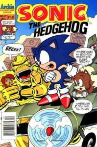 Sonic the Hedgehog #17 (Newsstand) VF; Archie | save on shipping - details insid
