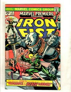 Marvel Premiere # 21 VF/NM Comic Book Feat. Iron Fist Defenders Misty Knight WS9