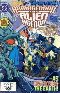DC ARMAGEDDON: ALIEN AGENDA #1 VF