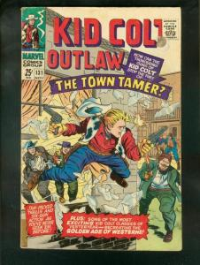 KID COLT OUTLAW #131 1966-COOL G