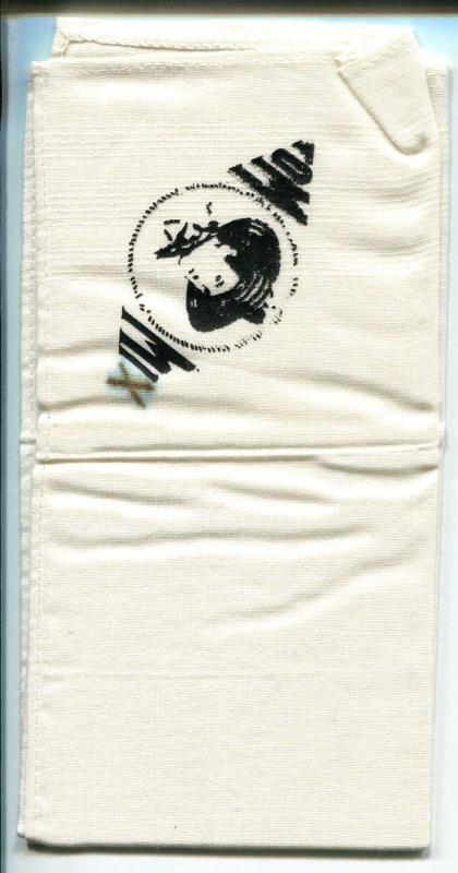Tom Mix Handkerchief 1940's-14 X 14-rare item-VG
