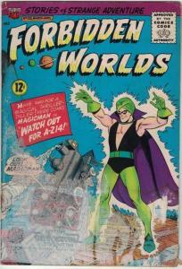 FORBIDDEN WORLDS 126 FAIR March 1965 Herbie app