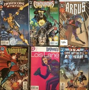 SIX DC NUMBER 1 ODD BALL TITLES.ALL UNREAD NM CONDITION 6 BOOK LOT