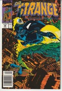 Doctor Strange Sorcerer Supreme # 28 Ghost Rider guest stars !