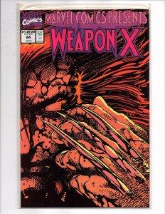 Marvel Comics (1988) Marvel Comics Presents #84 Weapon X Pt 12 Windsor-Smith