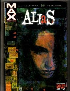Alias Marvel Comics HARDCOVER Graphic Novel Book Jessica Jones Brian Bendis HR8