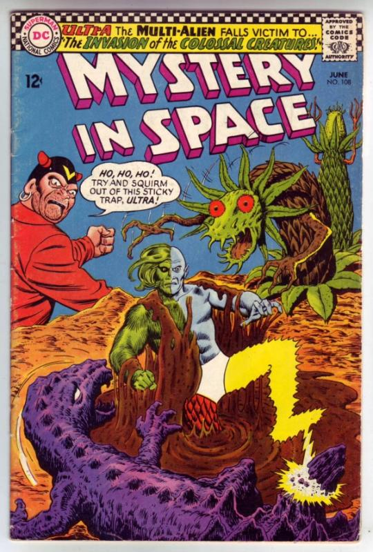 Mystery in Space #108 (Jun-66) FN+ Mid-Grade Ultra the Mult-Man
