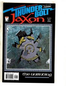 11 Wildstorm Comics Thunderbolt Jaxon # 1 2 3 4 5 + Hawksmoor # 1 2 3 4 5 6  JC2