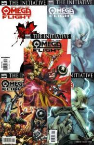 OMEGA FLIGHT (2007) 1-5  'The Initiative' tie-in
