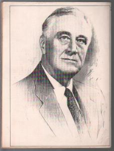 F.D.R. The Man Behind The Legend #2 10/1974-life & death of FDR-FN