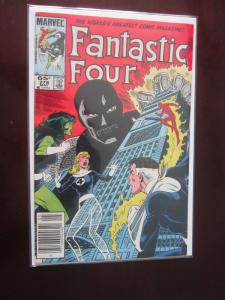Fantastic Four #278 Newsstand - 7.0 - 1985