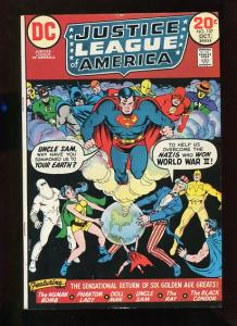 JUSTICE LEAGUE OF AMERICA #106 AND #107  (2 BOOKS) 1972  8.0-9.2 WHITE PAGES