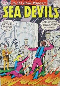 Sea Devils #19 1964 DC Silver Age Comic FN+ 6.5
