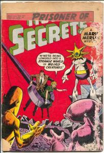 House of Secrets-#32-1960-DC-Mark Merlin-distributor return copy-P