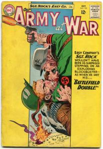 OUR ARMY AT WAR #135 1963 -D.C. WAR SILVER-AGE-SGT. ROCK- FR/G